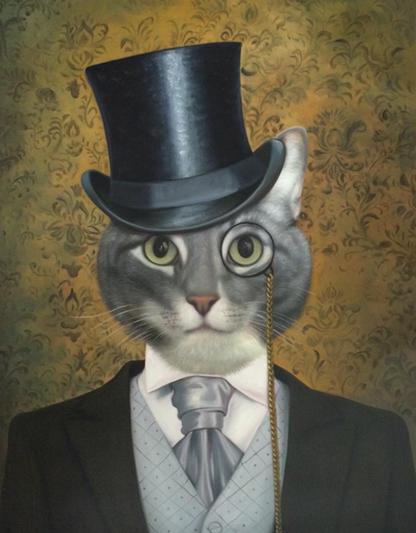 Aristocrat Cat